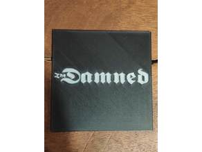 The Damned beermat
