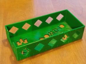 King Domino Board Game Card Box