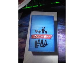 Depeche Mode cigarette case