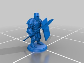 Basic Tower Guard - Polearm