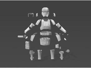 Shore Trooper Armour Suit 6 Foot
