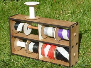 Workshop wire rack