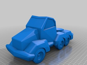 My Customized Procedural toy vehicle- All Random - All OPENSCAD