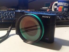 Sony RX100 55mm filter adapter