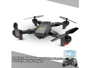 Gear cover for quadcopter Visuo xs809
