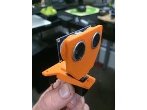 Ultrasonic Sensor and Servo Brackets