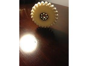 Gear Style Spinner - 1 Bearing Spinner (easy!!)