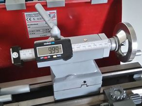 Small lathe improvements: simple tailstock DRO