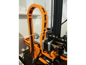 Creality CR-10 Z axis cable drag chain