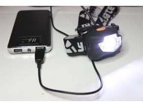 3xAAA battery adapter (for headlamp)