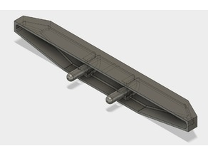 Axial SCX10.2 XJ front bumper
