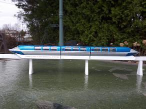 Disneyland Mark I Monorail