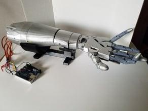 Robot Hand Base (InMoov)