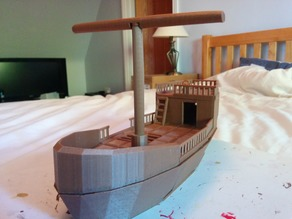 D&D Small Ship (Playable Terrain)