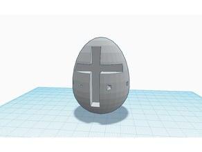 easter egg w. cross