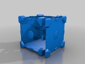 Companion Cube Enclosure Parts