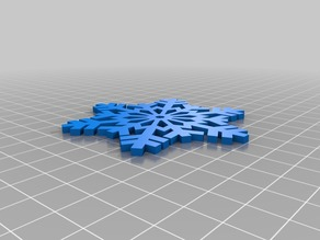 Magnetic Snowflake