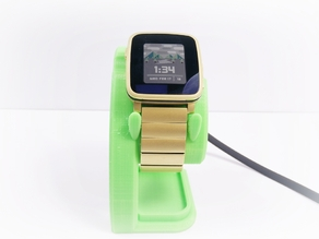 Pebble Time Steel Charging Stand