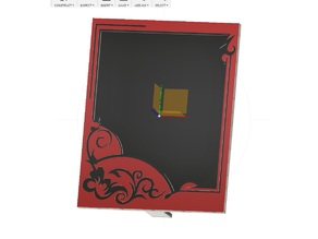 Customizable Picture Frame 7.5 x 9.5 cm
