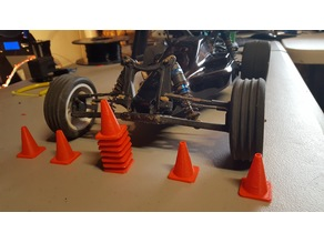 Traffic Cone for RC