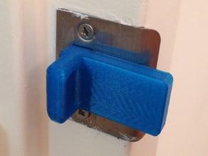 Customizable simple door stop (pinch guard)