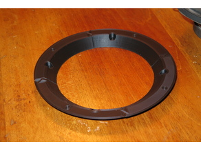Speaker Adapter Ring 5.25 to 6.5 inch