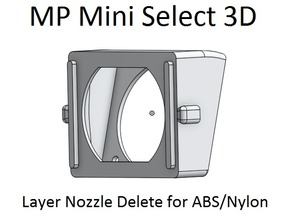 MP Mini Select 3D ABS & Nylon Fan Shroud