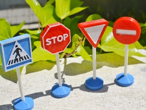 Traffic signs toy