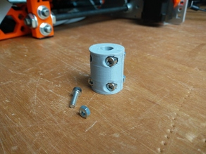 5 x 8mm Rigid Coupler