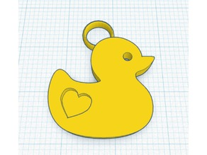 Keychain Rubber Ducky