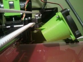 50 mm fan mount for Prusa v2