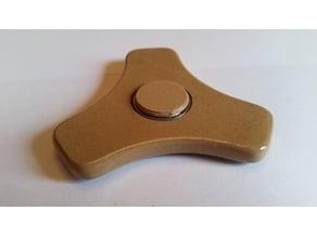 Fidget Spinner with internal weights