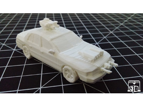 Printer Forge 3D Promotional Cars Mini 001