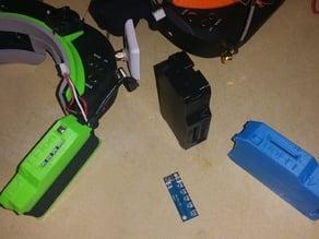 fatshark skyzone goggle lithium ion case