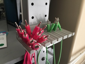 Jerker Patch Cable Holder