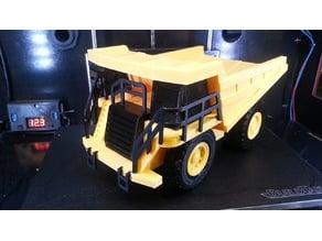 Caterpillar 777f Dump Truck Remix