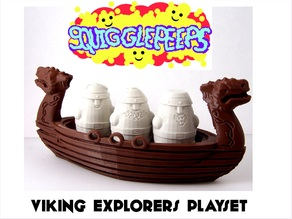 Squigglepeeps: Viking Explorers Playset