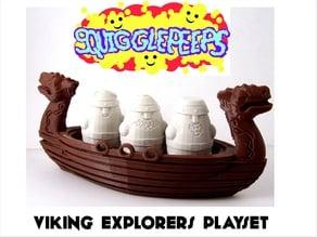 Squigglepeeps: Viking Explorers Playset