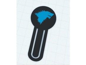 House Stark Bookmark