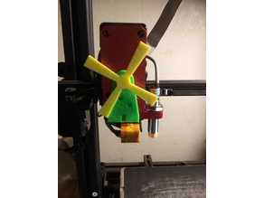 Monoprice Maker Pro Mk.1 Extruder Indicator - Amish Wind Mill