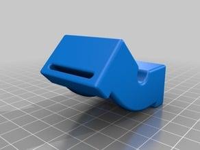Ratchet strap mitre clamping blocks