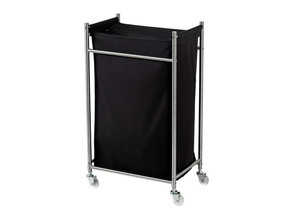 Wheel support for Ikea Grundtal laundry bag