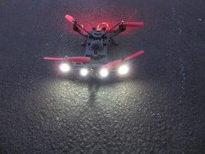 Walkera Runner 250 LED mounting brackets