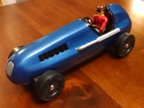 Pinewood Derby Roadster Shell