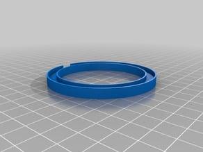 Mount for 70 mm COB led ring
