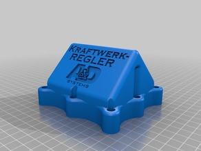 Kraftwerkregler CC/CV controller housing for 75x40 REMOTE ONLY units