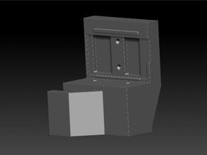 Raise3D_N2_Filament_Run-Out_Sensor_Back_Cover_for_Bontech_Extruder-reversed
