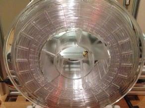 Spool holder for aluminium frame printers