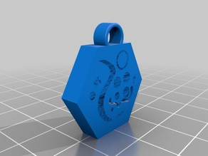 Key Ring Benchy (15mins printing time)