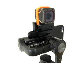 DJI Osmo Mount for FoxeerBox and Phone together